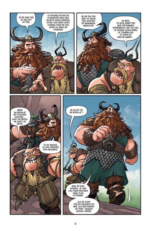 Dragons T5 : La Légende de Ragnarök (0), comics chez Soleil de Furman, Lawrence, Digikore studio
