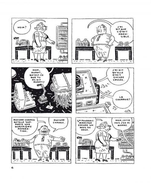La Manufacture des belles enveloppes, comics chez Delcourt de Oliveros