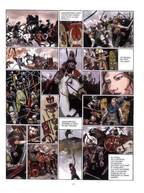 La Guerre des gaules, bd chez Tartamudo de Tarek, Pompetti