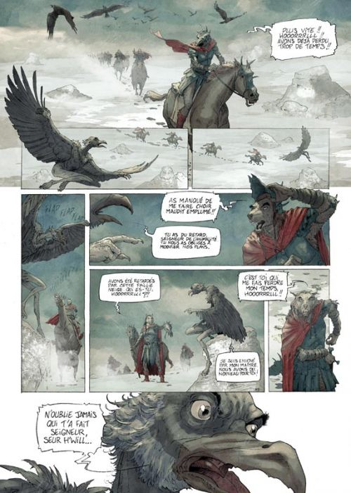 Fables de l'Humpur T4 : Le Grand Centre (0), bd chez Soleil de Bordage, Roman, Richard