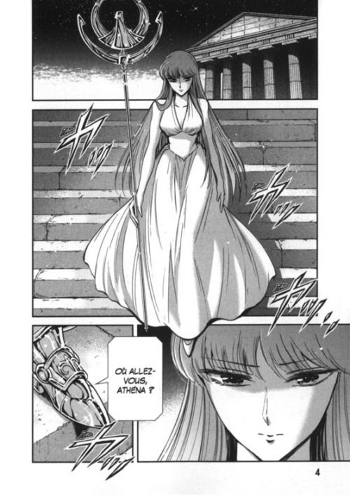 Saint Seiya Saintia Shô T6, manga chez Kurokawa de Kurumada, Kuori
