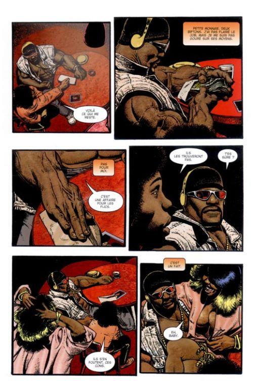 Luke Cage : Mafia Blues (0), comics chez Panini Comics de Azzarello, Corben, Villarrubia