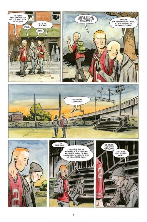 Bad Blood, comics chez Delcourt de Maberry, Crook