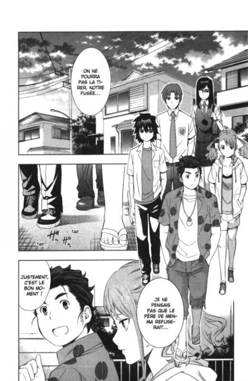 Ano Hana T3, manga chez Panini Comics de Okada, Izumi