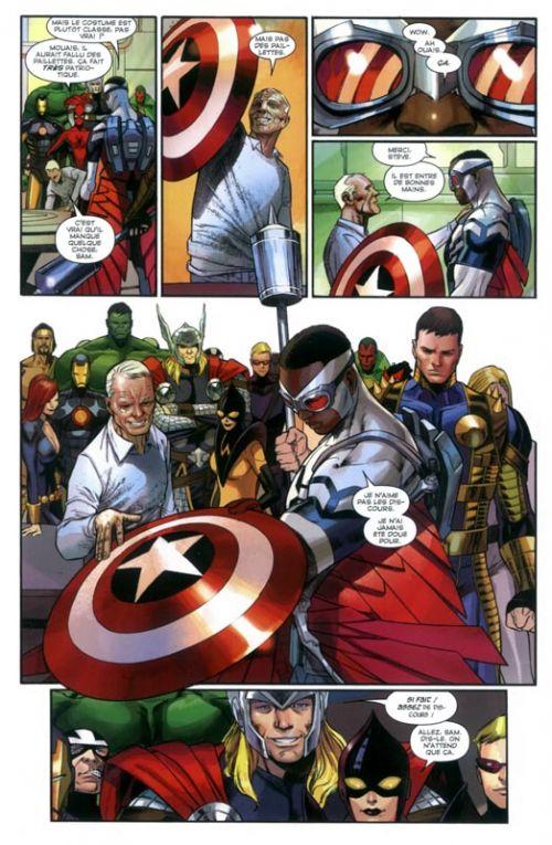 Captain America (vol.7) T5 : Le soldat de demain (0), comics chez Panini Comics de Remender, Lee, Renaud, Pacheco, Immonen, Timm, White, Gandini, Stewart, Oback, Gracia, Loughridge, Ross