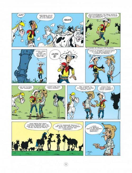 Les nouvelles aventures de Lucky Luke T7 : La terre promise (0), bd chez Lucky Comics de Jul, Achdé, Mel