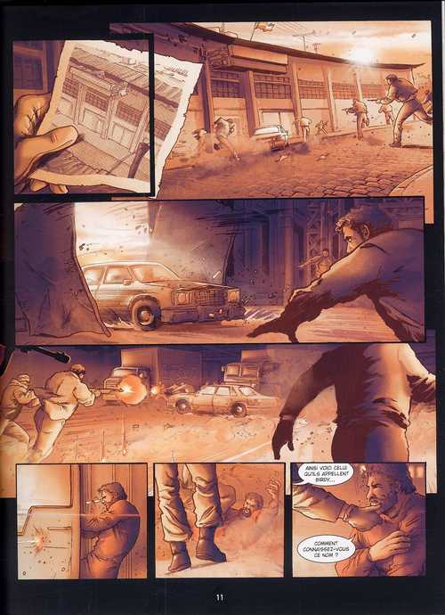 Groom Lake T2 : Leur grand secret (0), bd chez Bamboo de Richez, Dzialowski, Saint Blancat