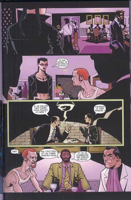 Down, comics chez Delcourt de Ellis, Hamner, Harris, Mettler