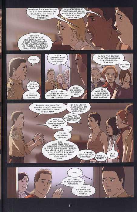 Girls T3 : Survie (0), comics chez Delcourt de Luna, Luna