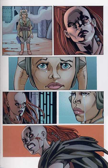 Star Wars - Le côté obscur – Le côté obscur, T8 : Aurra sing (0), comics chez Delcourt de Fabbri, Truman, McCaig