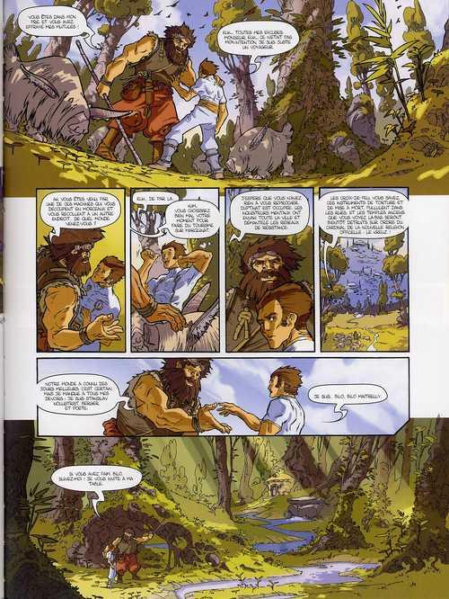 Les guerriers du silence T3 : Pierre qui vole (0), bd chez Delcourt de Algésiras, Ogaki, Leprévost