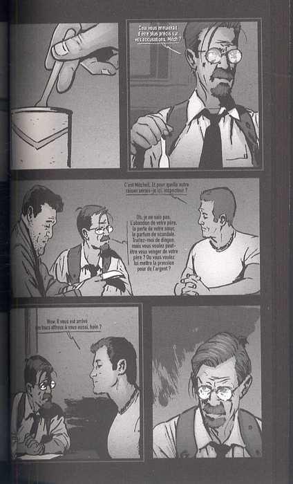 Les enquêtes de Sam et Twitch T2 : Tel père, telle fille (0), comics chez Delcourt de Andreyko, Scott, Noora