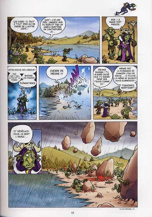 Goblins T1 : Bêtes et méchants (0), bd chez Soleil de Roulot, Martinage, Esteban