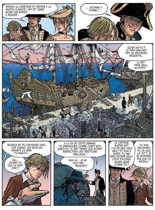 Jimmy Jones T1 : Le capitaine du Polyphème (0), bd chez Les Humanoïdes Associés de Artibani, Coppola, Nardin