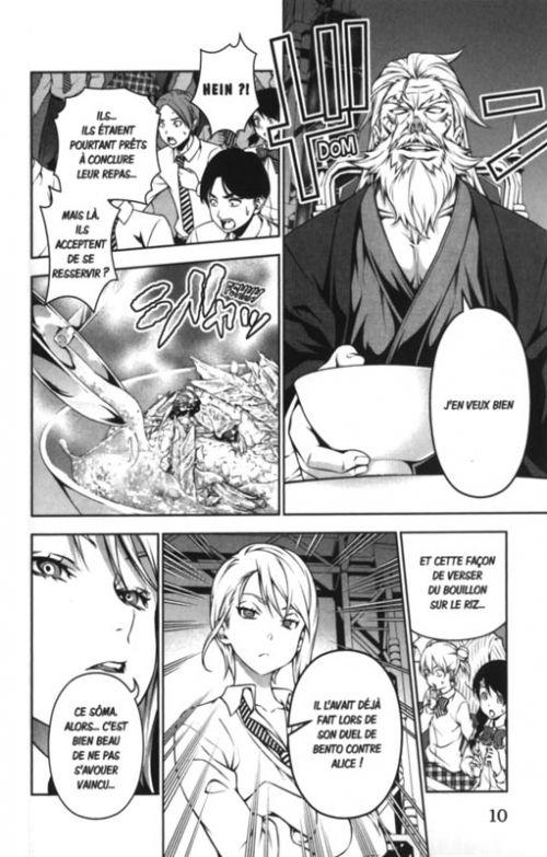 Food wars  T13, manga chez Tonkam de Tsukuda, Saeki