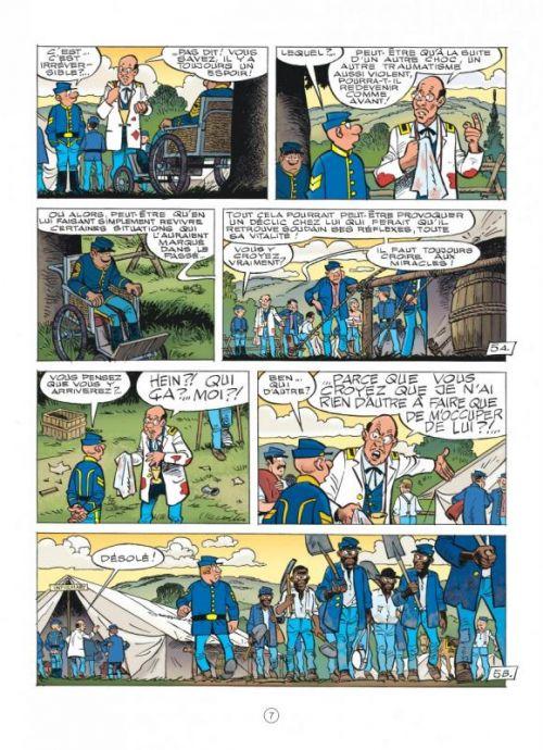 Les Tuniques bleues T60 : Carte blanche pour un Bleu (0), bd chez Dupuis de Cauvin, Lambil, Léonardo