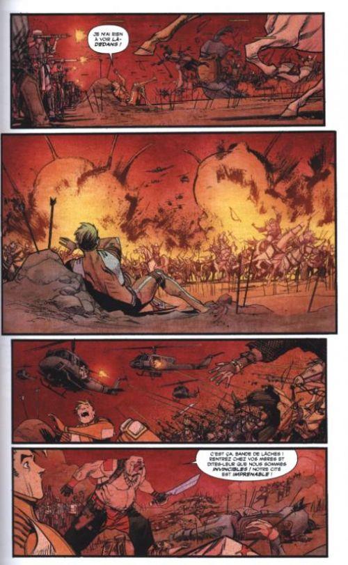Chrononauts T1, comics chez Panini Comics de Millar, Murphy, Hollingsworth