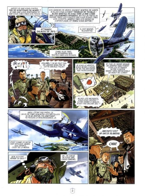 L'Escadrille des Têtes Brûlées T6 : Le crépuscule des prétentieux (0), bd chez Zéphyr de Veys, Jagerschmidt, Philippe, Le Capon