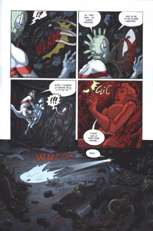 Infinity 8 (comics) – cycle 1, T2 : Romance et macchabées (2/3) (0), comics chez Rue de Sèvres de Trondheim, Bertail