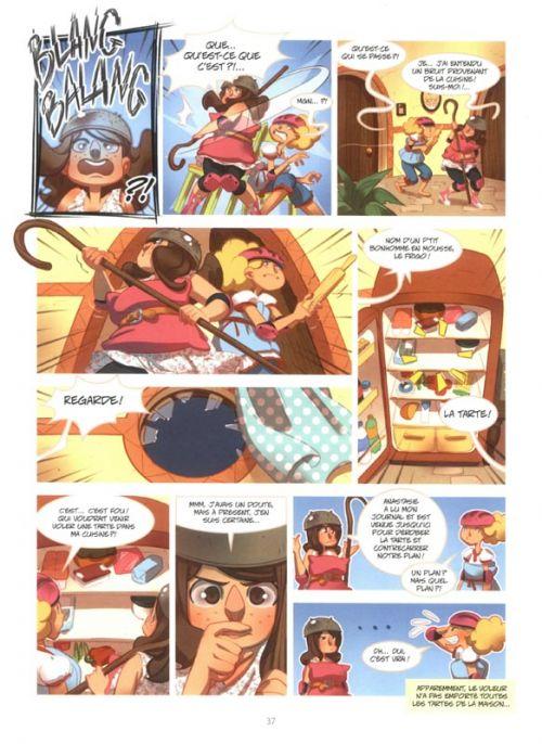 L'Envers des contes T1 : La soeur pas si laide de cendrillon (0), bd chez Kennes éditions de Gihef, Zimra