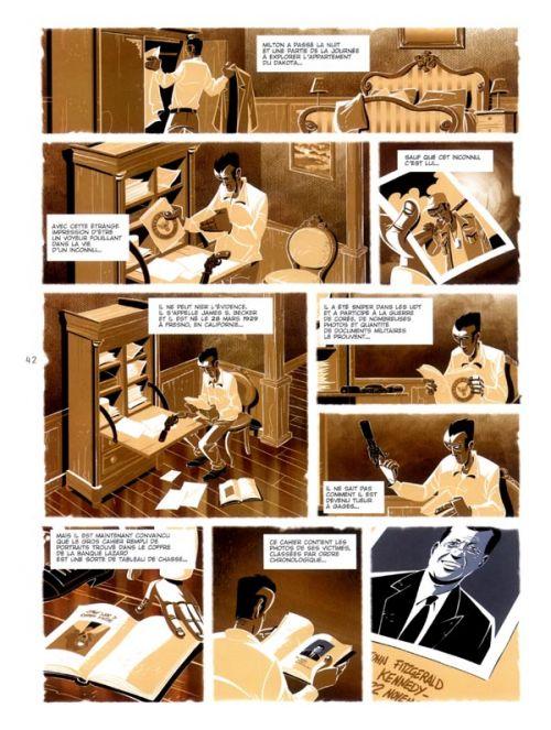 Trou de mémoire T2 : Combien de temps un homme peut-il survivre sans respirer ? (0), bd chez Les éditions du Long Bec de Seiter, Regnauld