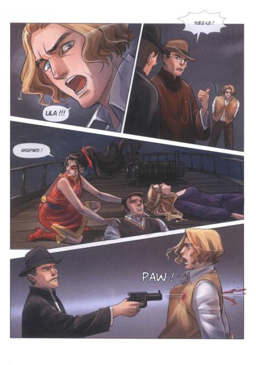 L' ombre de Shangaï  T5 : L'évasion (0), manga chez Les Editions Fei de Crépin, Marty, Lu