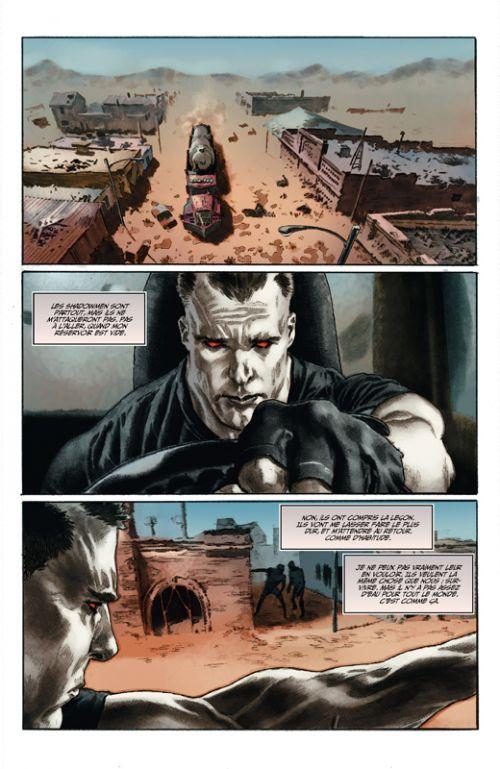 Bloodshot Reborn T3 : L'homme analogique (0), comics chez Bliss Comics de Lemire, Larosa, Gaudiano, Guice, Reber, Passalaqua