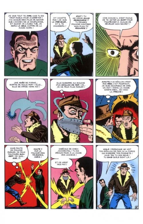 Je suis Doctor Strange, comics chez Panini Comics de Russell, Thomas, Ditko, Englehart, Wolfman, Barbiere, Lee, Stern, Windsor-Smith, Davis, Wyman, Colan, Rudy, Smith, Collectif