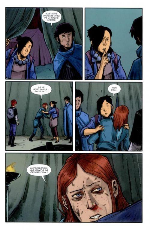 The Woods T2, comics chez Ankama de Tynion IV, Dialynas, Gonzalez, Stokely