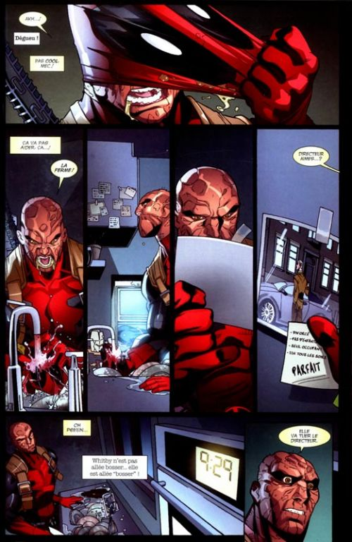 Deadpool (1998) T4 : Opération Annihilation (0), comics chez Panini Comics de Way, Barberi, Vella, Dazo, Mossa, Gracia, Filardi, Gonzales, Daniel, Johnson