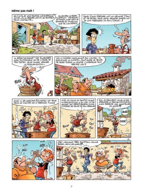 Les Fondus de la bière, bd chez Bamboo de Cazenove, Richez, Stédo, Lunven