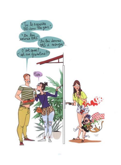 La Femme parfaite est une connasse, bd chez Fluide Glacial de Motin, Girard, Girard