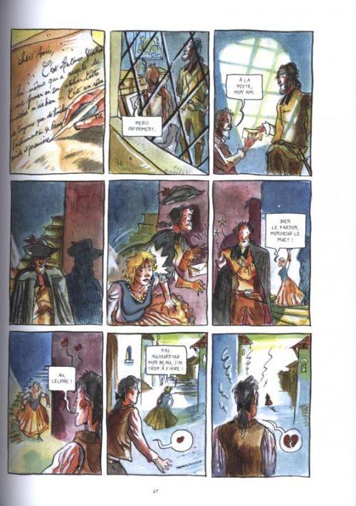Un Amour de Stradivarius, bd chez Nouveau Monde de Tillon, Remise