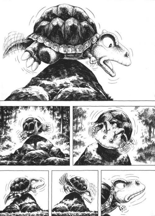 Gon T4, manga chez Pika de Tanaka