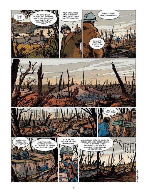 Verdun T2 : L'agonie du fort de Vaux (0), bd chez Bamboo de Le Naour, Marko, Holgado, Bouët