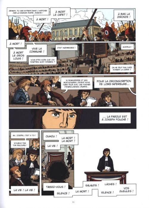 Fouché T1 : Révolutionnaire (0), bd chez Les arènes de Juncker, Mallet, Croix