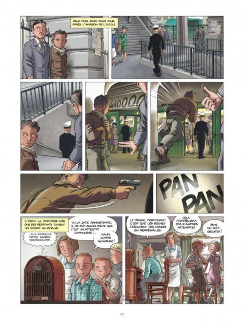 Les Enfants de la Résistance T3 : Les Deux géants (0), bd chez Le Lombard de Dugomier, Ers