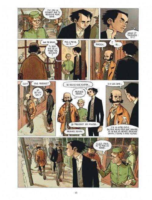 Stern T2 : La cité des sauvages (0), bd chez Dargaud de Maffre, Maffre, Durandelle
