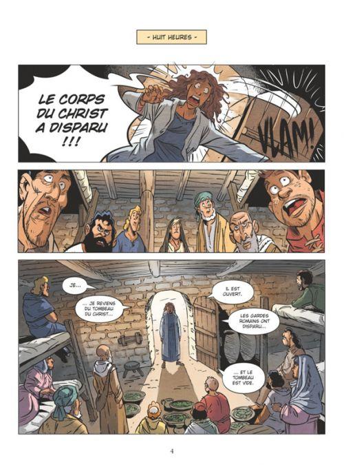 Un Jour sans Jésus T1, bd chez Vents d'Ouest de Juncker, Pacheco, Cesano