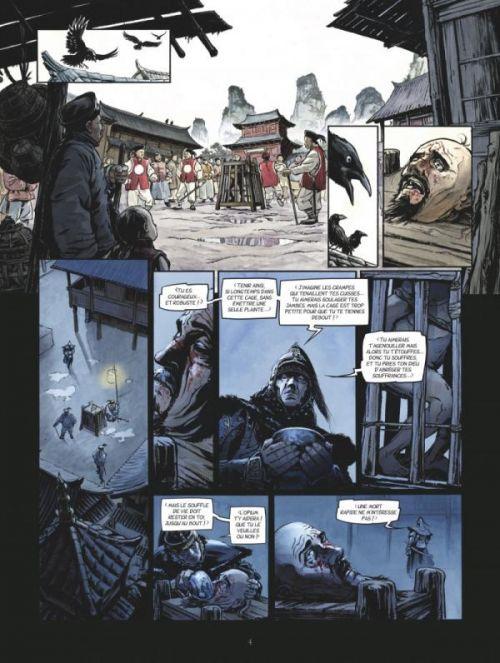 Laowai T1 : La guerre de l'opium (0), bd chez Glénat de Alcante, Bollée, Besse