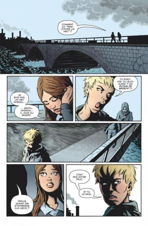 Alena, comics chez Glénat de Andersson