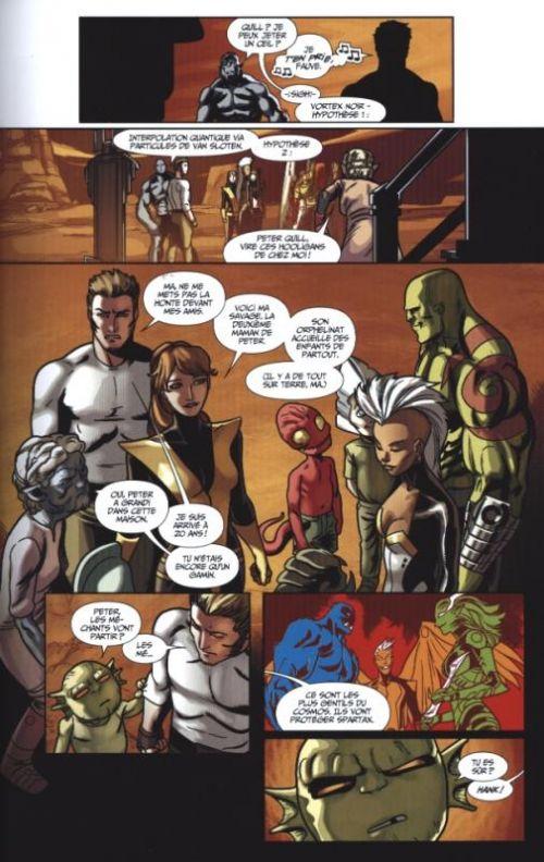 Les Gardiens de la Galaxie / All-New X-Men T1 : Le Vortex Noir (1) (0), comics chez Panini Comics de Humphries, Bendis, Medina, Anka, McGuinness, Sorrentino, Mayhew, Schiti, Gracia, Keith, Beredo, Maiolo, Curiel