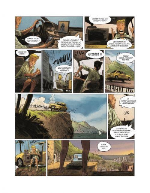 Watch Dogs T1 : Retour à Rocinha (0), bd chez Les deux royaumes de Kansara, Horne, Champelovier