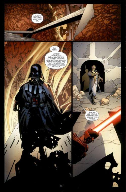 Dark Vador T3 : La guerre Shu-Torun (0), comics chez Panini Comics de Gillen, Larroca, Yu, Mounts, Delgado