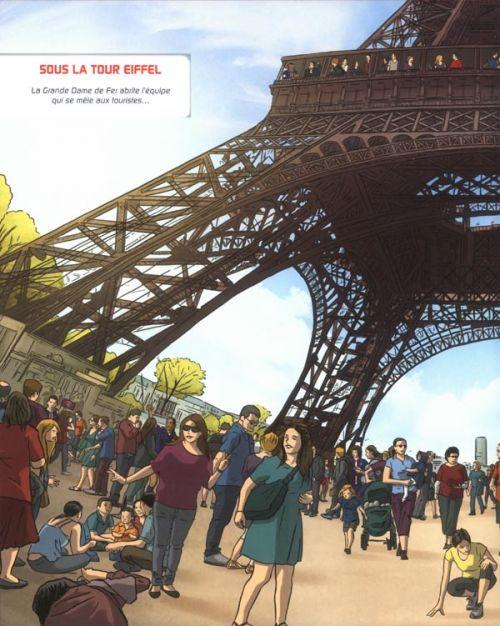 Cherche : Paris Saint-Germain !, bd chez Soleil de Kompf, Merle
