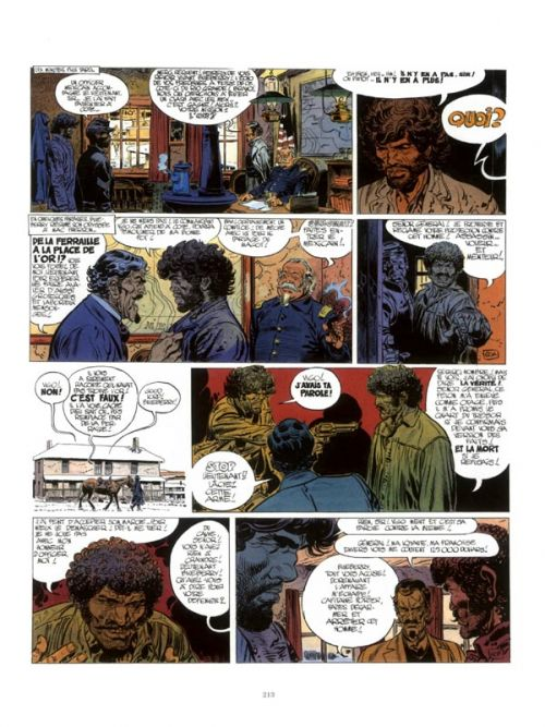 Blueberry T5, bd chez Dargaud de Charlier, Giraud