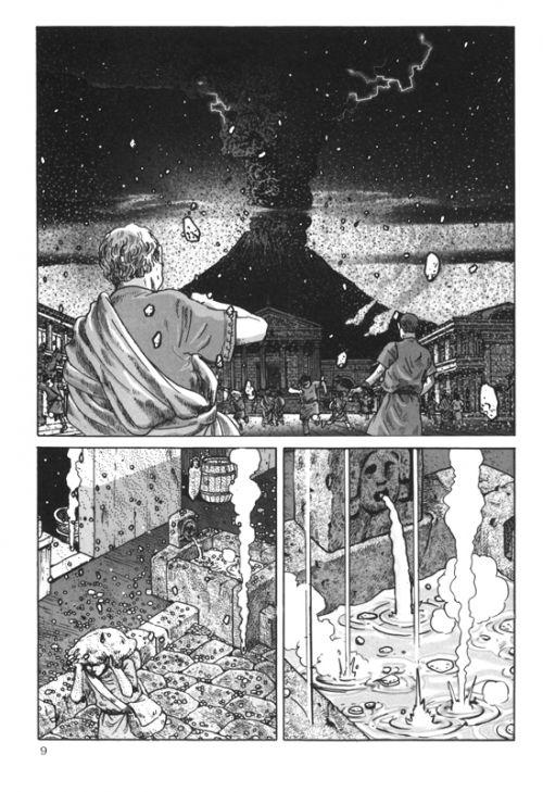 Pline T1, manga chez Casterman de Yamazaki, Tori
