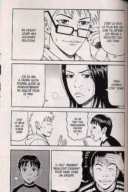 Beck T14, manga chez Delcourt de Sakuishi