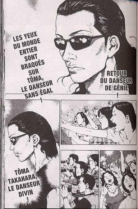 Coq de combat T17, manga chez Delcourt de Hashimoto, Tanaka