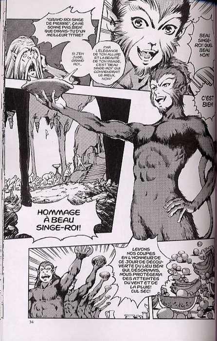 Le voyage en Occident T1 : La naissance de Beau Singe-roi (0), manga chez Xiao Pan de Chen, Peng